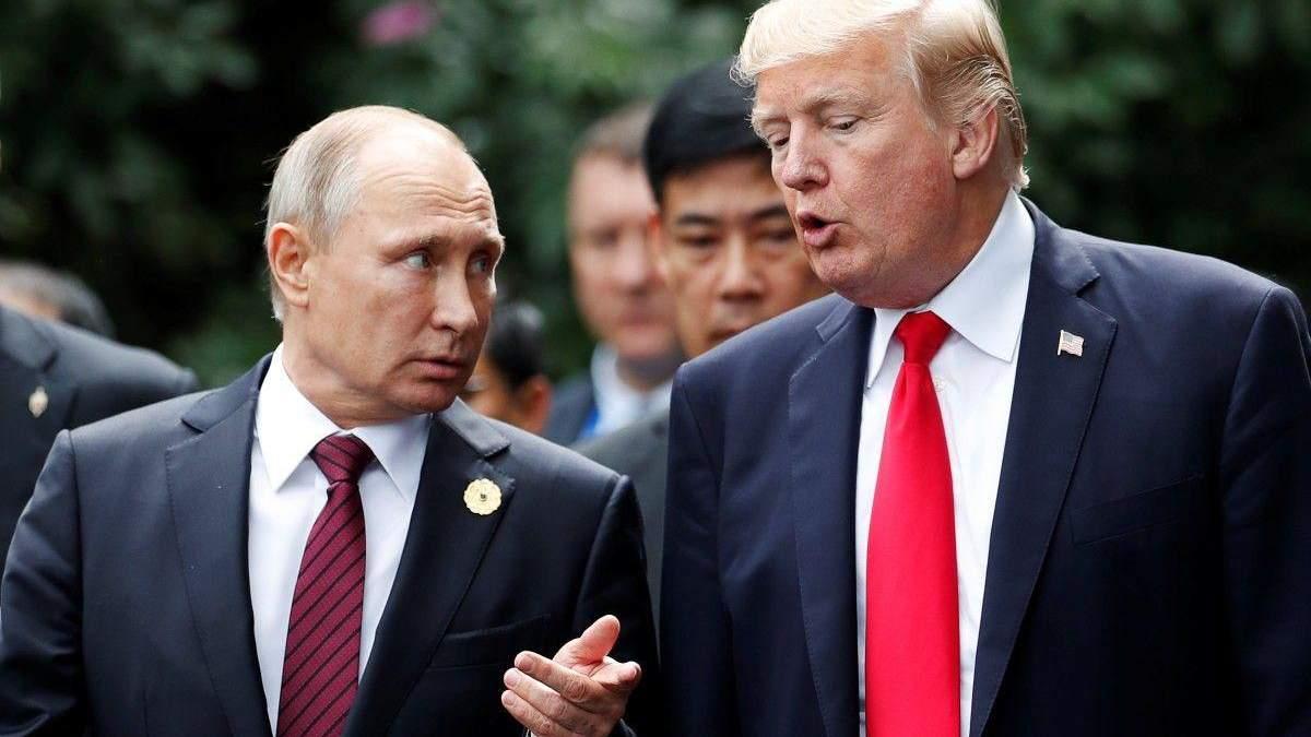 В Кремле рассказали детали разговора Путина и Трампа на полях G20