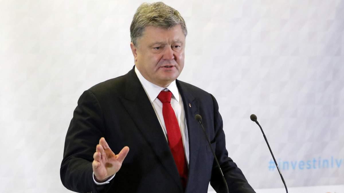 Порошенко закликав світ відреагувати на агресію Кремля на Азові
