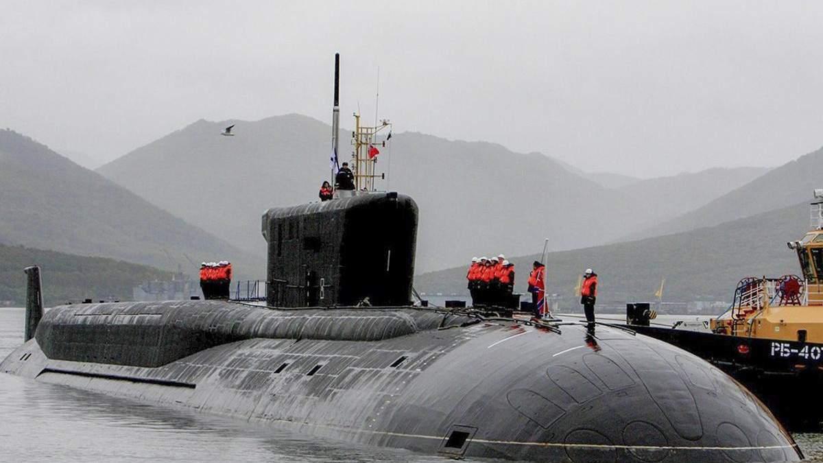 У Росії провели випробування підводного ракетного крейсера