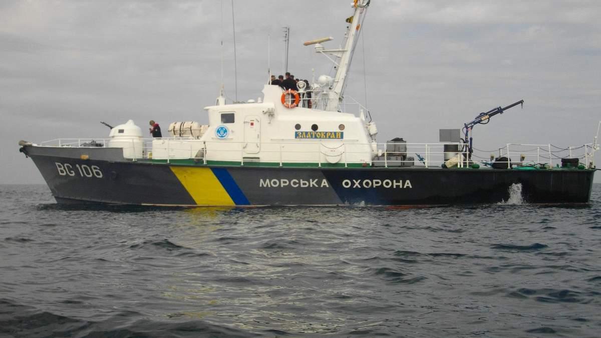 Усі кораблі Держприкордонслужби приведені в повну бойову готовність