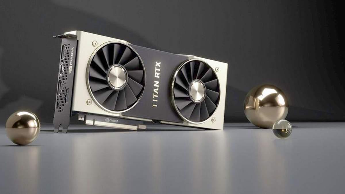 NVIDIA Titan RTX: характеристики та ціна