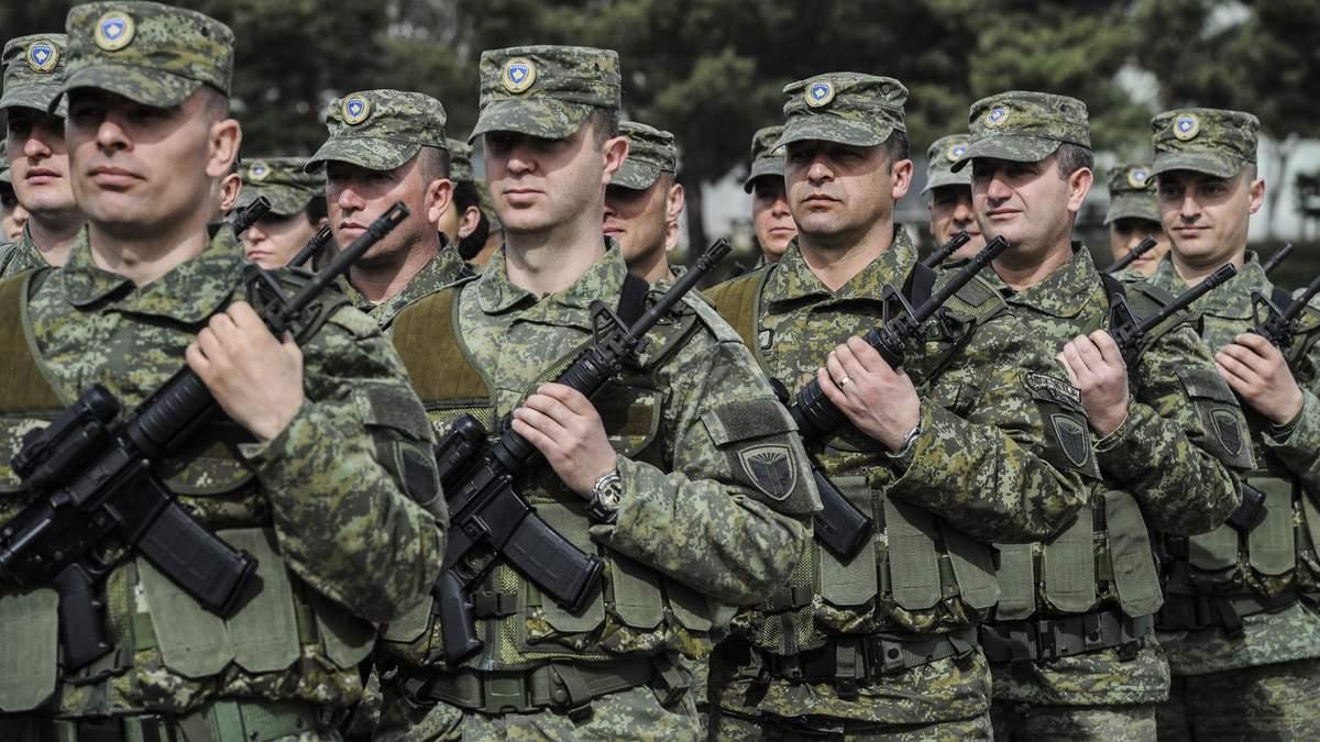Сербія шукає підтримки з боку РФ і Китаю у зв'язку з планами Косова створити армію