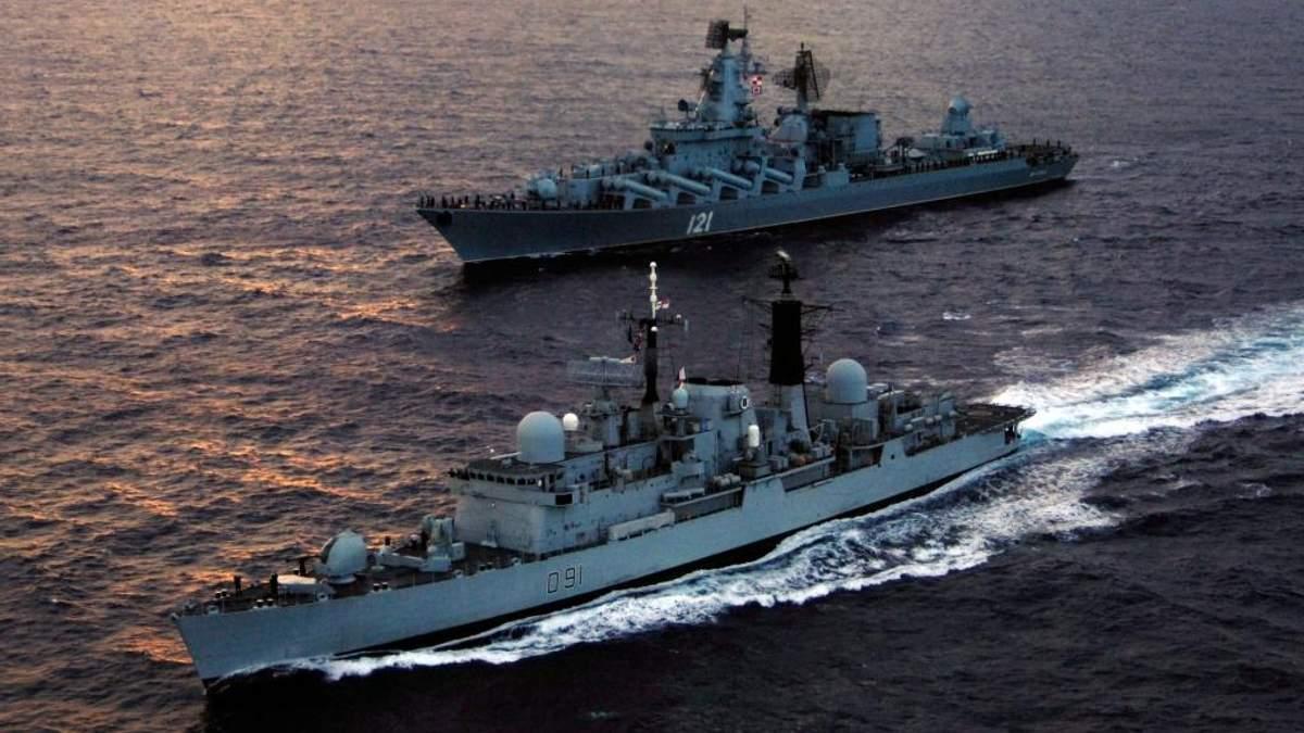 Російським кораблям можуть заблокувати вихід у інші моря