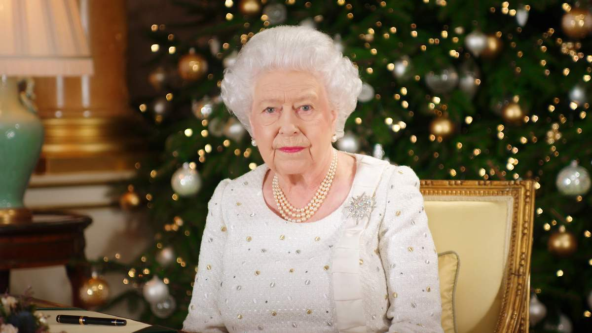 Елизавета II в Букингемском дворце, 2017 год