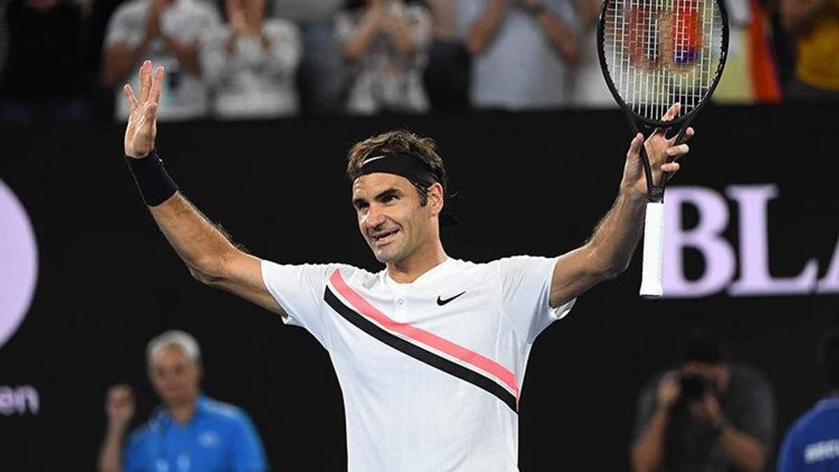 Роджер Федерер – шестиразовий переможець Australian Open