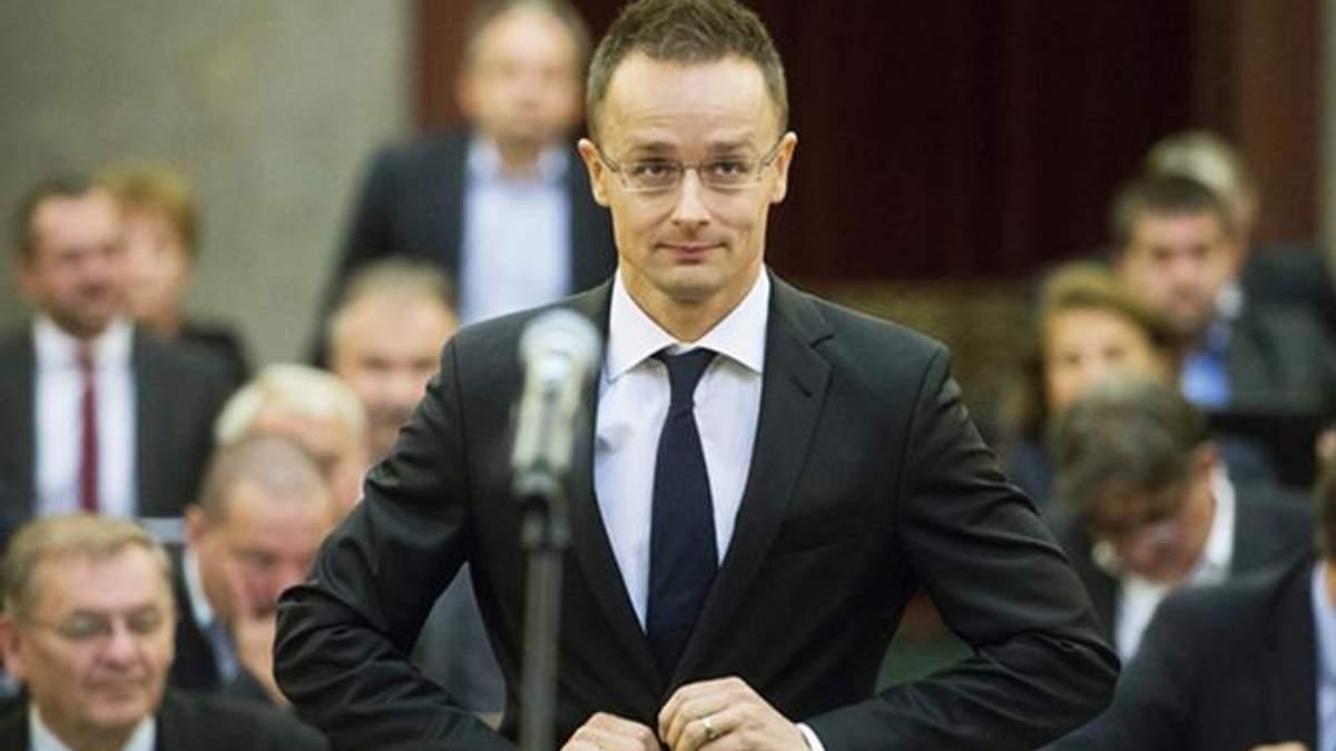 Сийярто заявил, что Венгрия продолжит блокировать проведение комиссии Украина-НАТО
