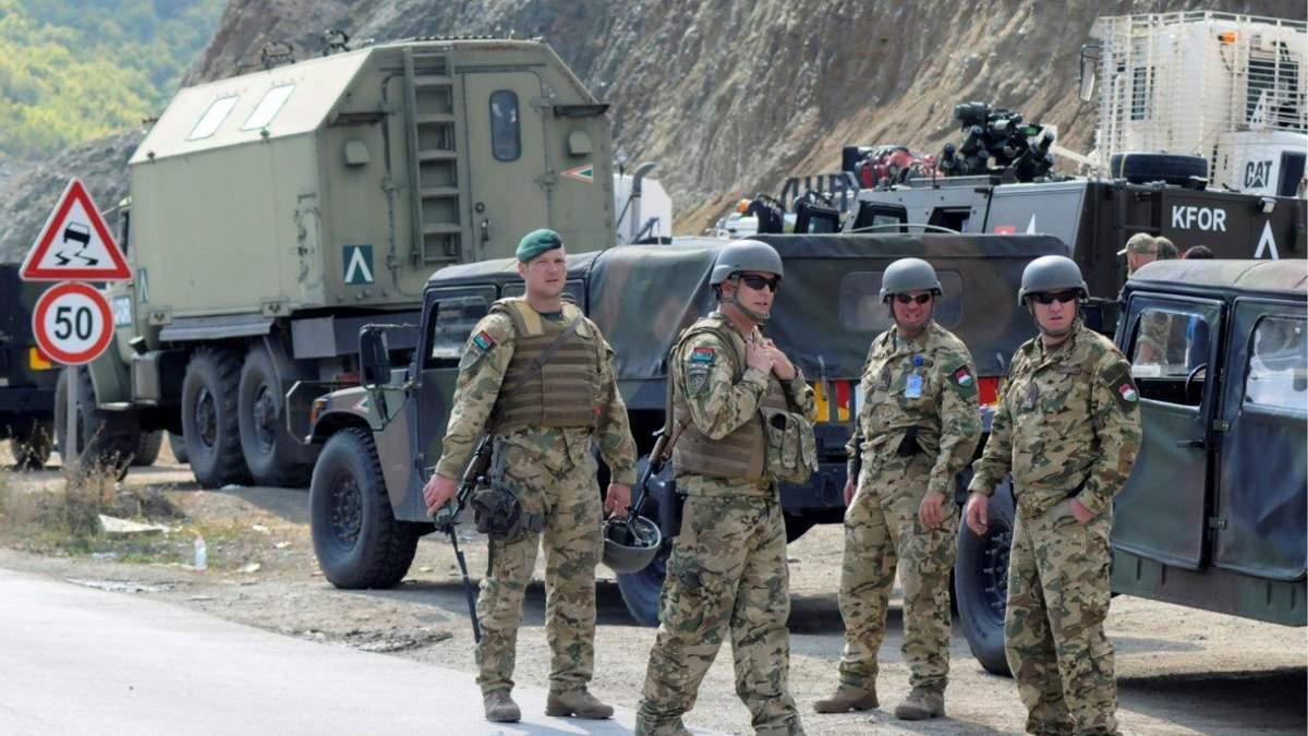 Сербия угрожает Косово вооруженным вмешательством в случае создания там армии