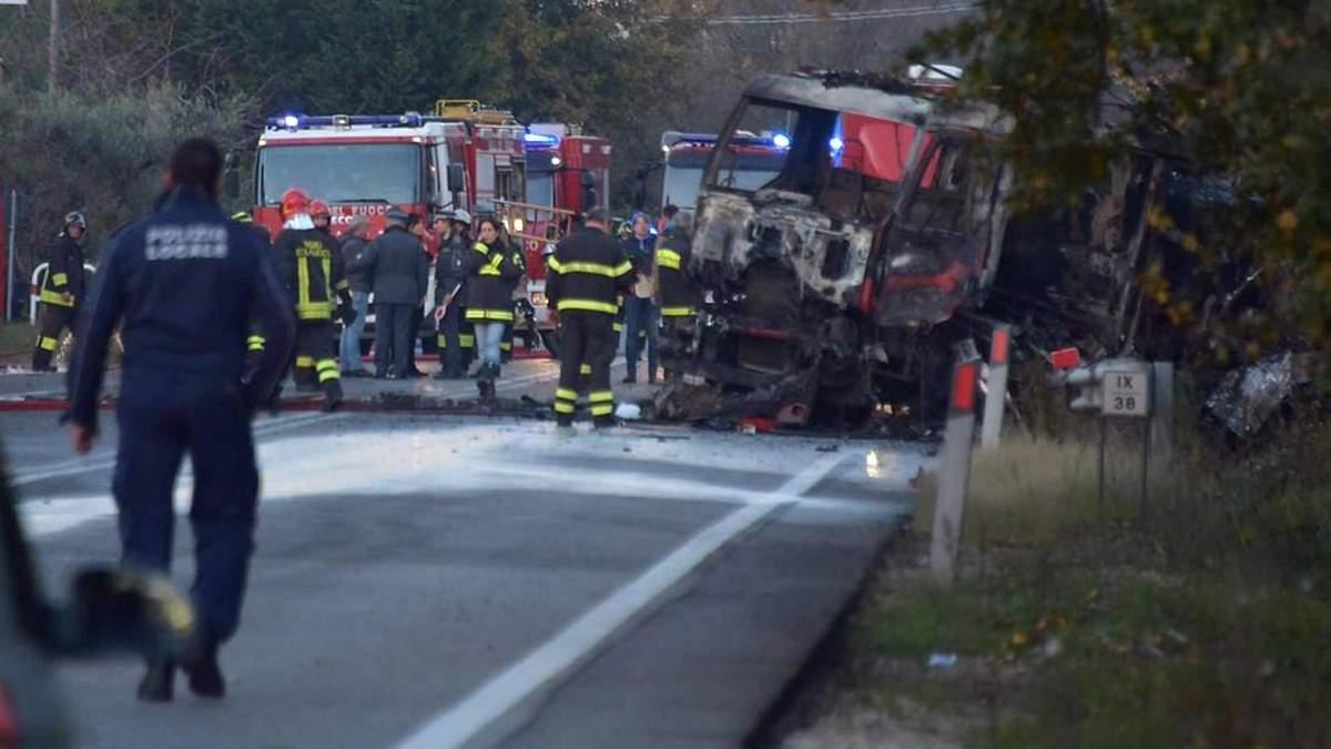 В Італії вибух на автозаправці, є загиблі і поранені: фото та відео