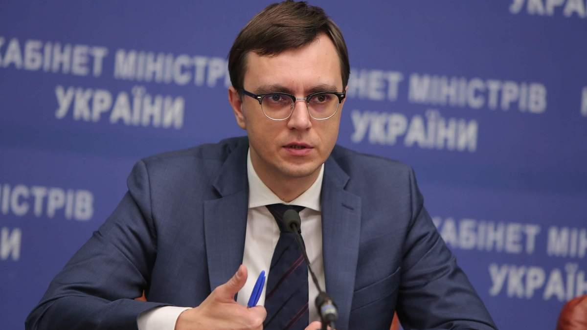Омелян повідомив про зміни у роботі двох портів на Азовському морі