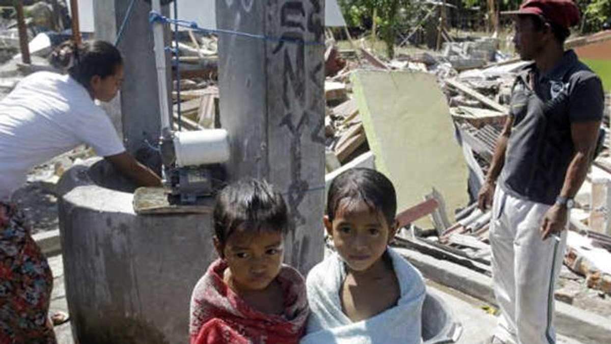 Землетрясение в Индонезии 2018