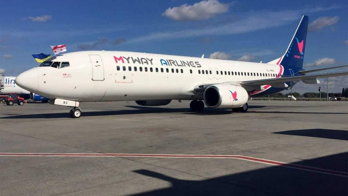 Грузинська авіакомпанія призупиняє польоти в Україну