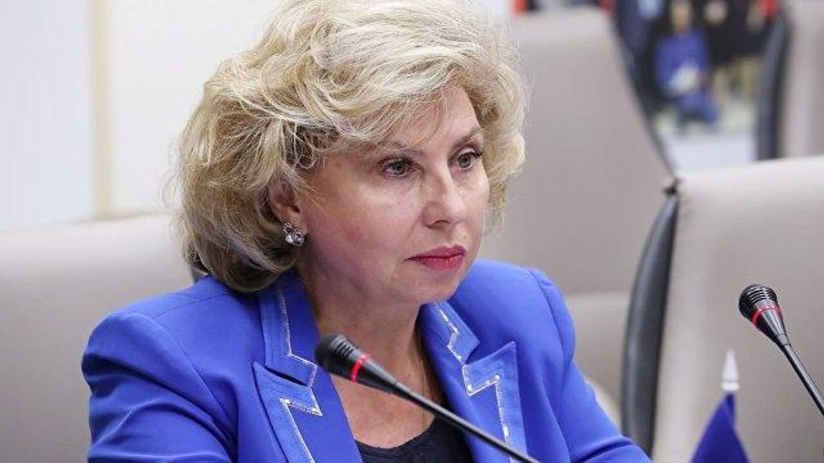 Москалькова розповіла про візит до поранених українських моряків