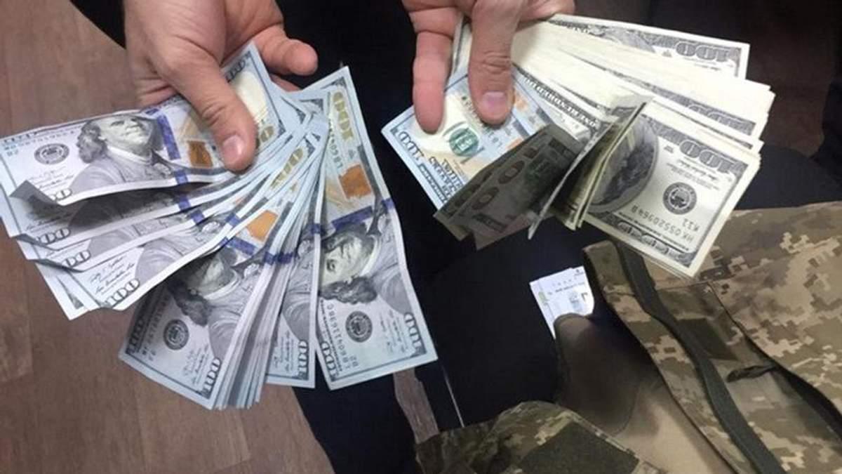 На Одещині СБУ затримали керівника районного військкомату за хабарництво