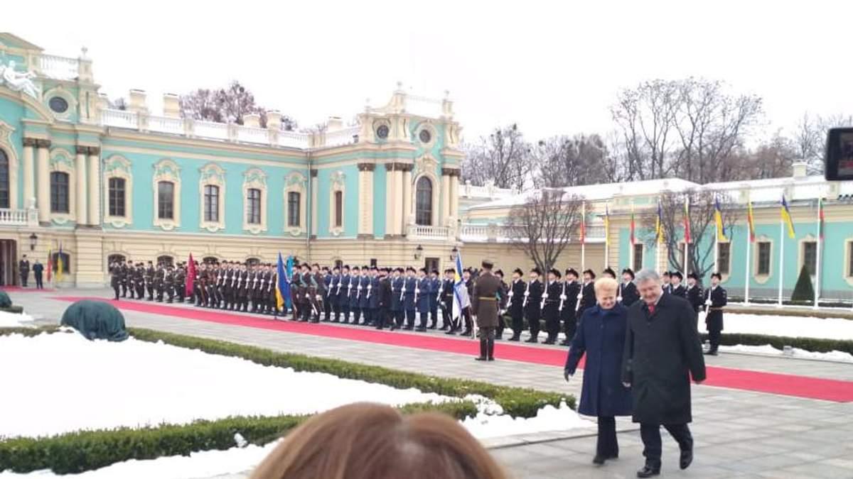В Україну прибула президент Литви