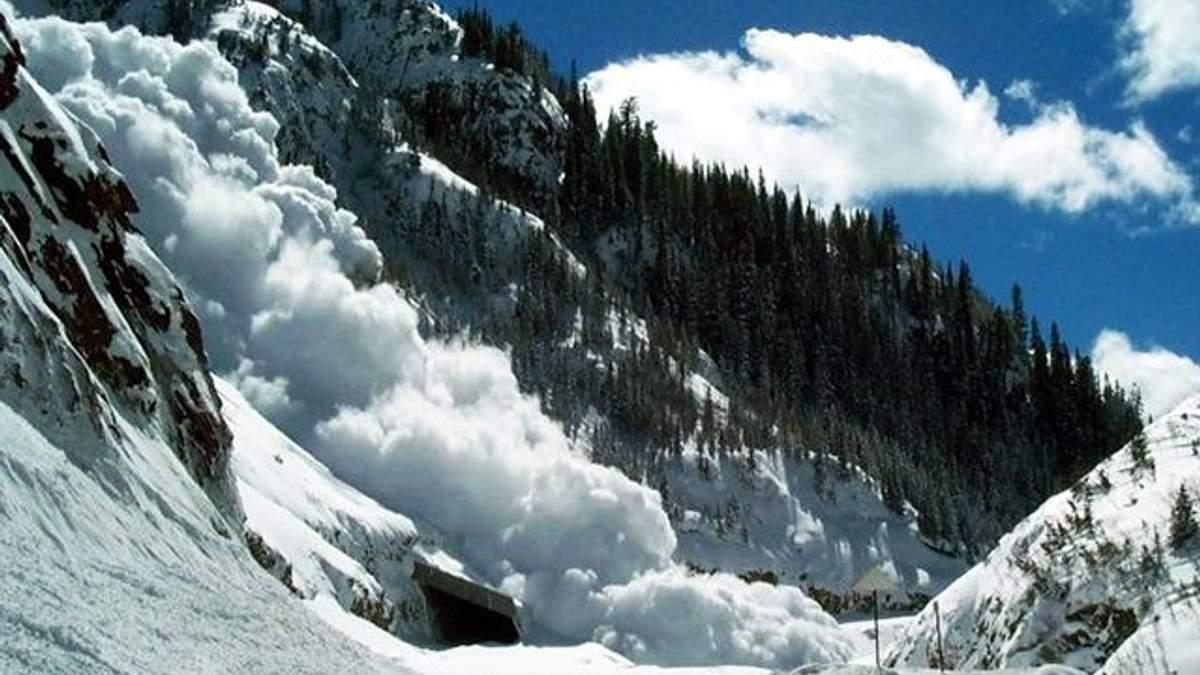 Чрезвычайники предупредили о сходе снежных лавин в Карпатах