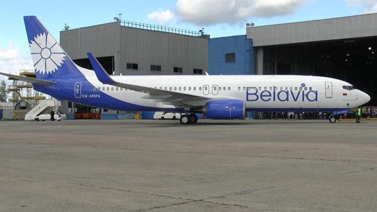"""Белорусская компания """"Белавиа"""" прокомментировала аварию своего самолета в """"Борисполе"""""""