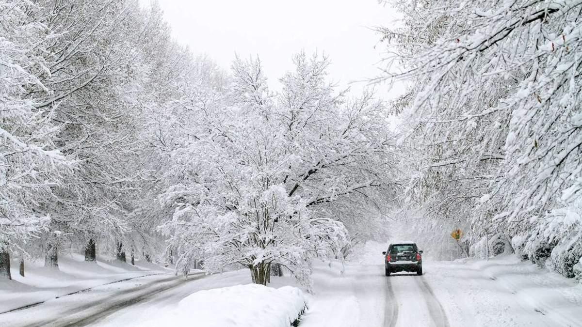 12 грудня та 13 грудня 2018 сніг, хуртовини та хвилі до 5 метрів в Україні