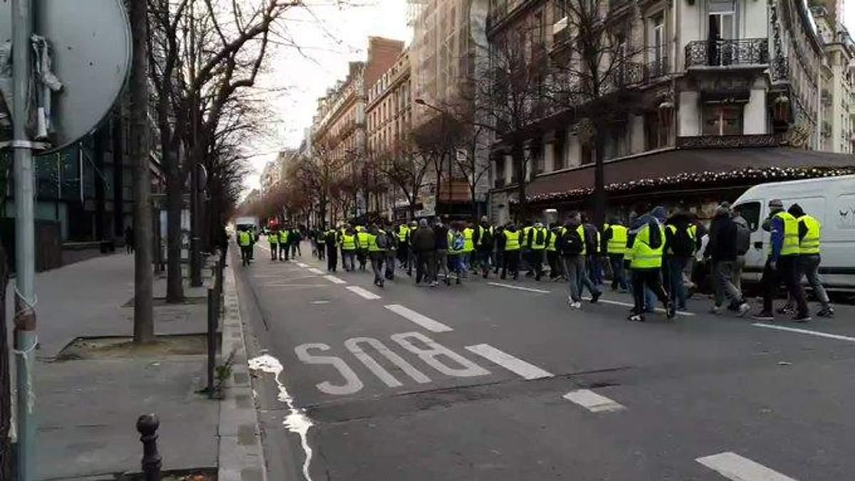 """""""Жовті жилети"""" у Франції"""