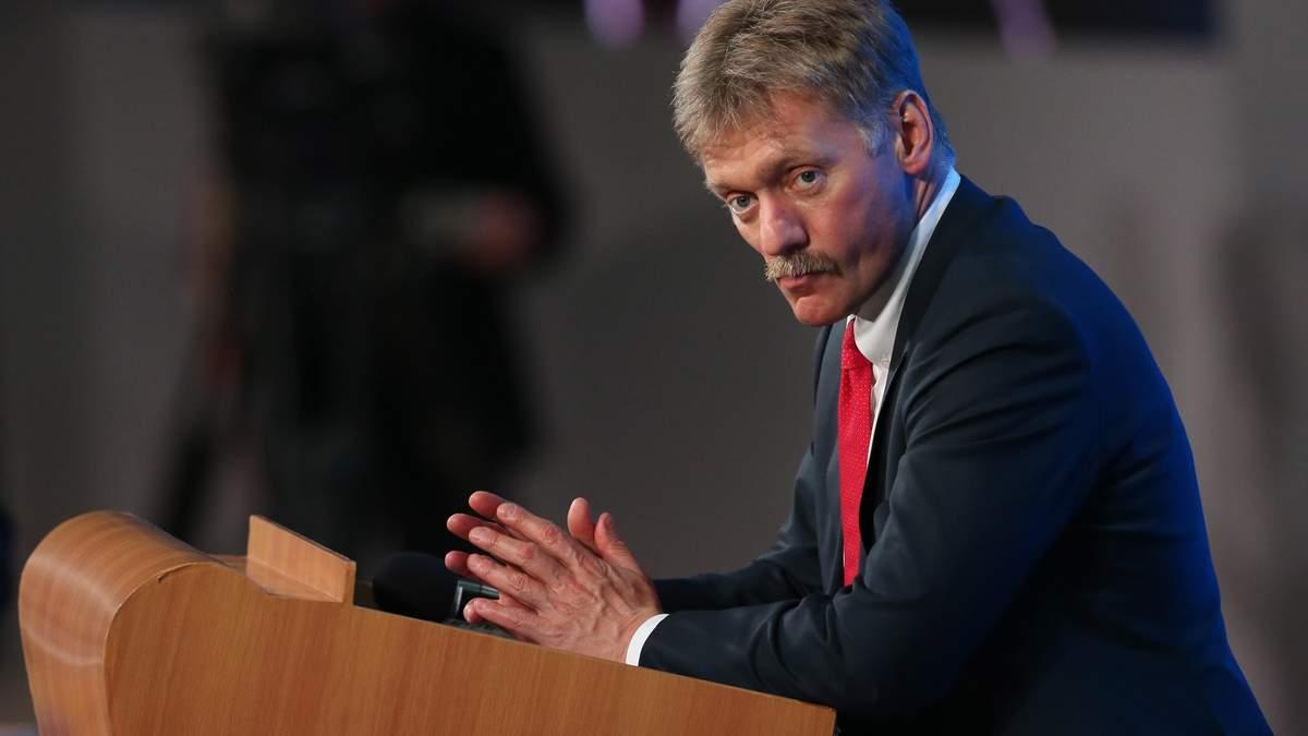 У Путіна відреагували на слова Порошенка про війну