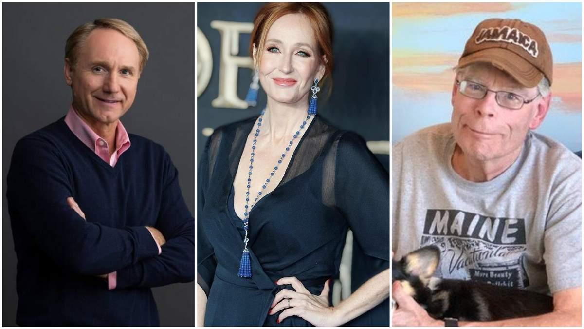 Топ-11 найбільш високооплачуваних письменників 2018 року