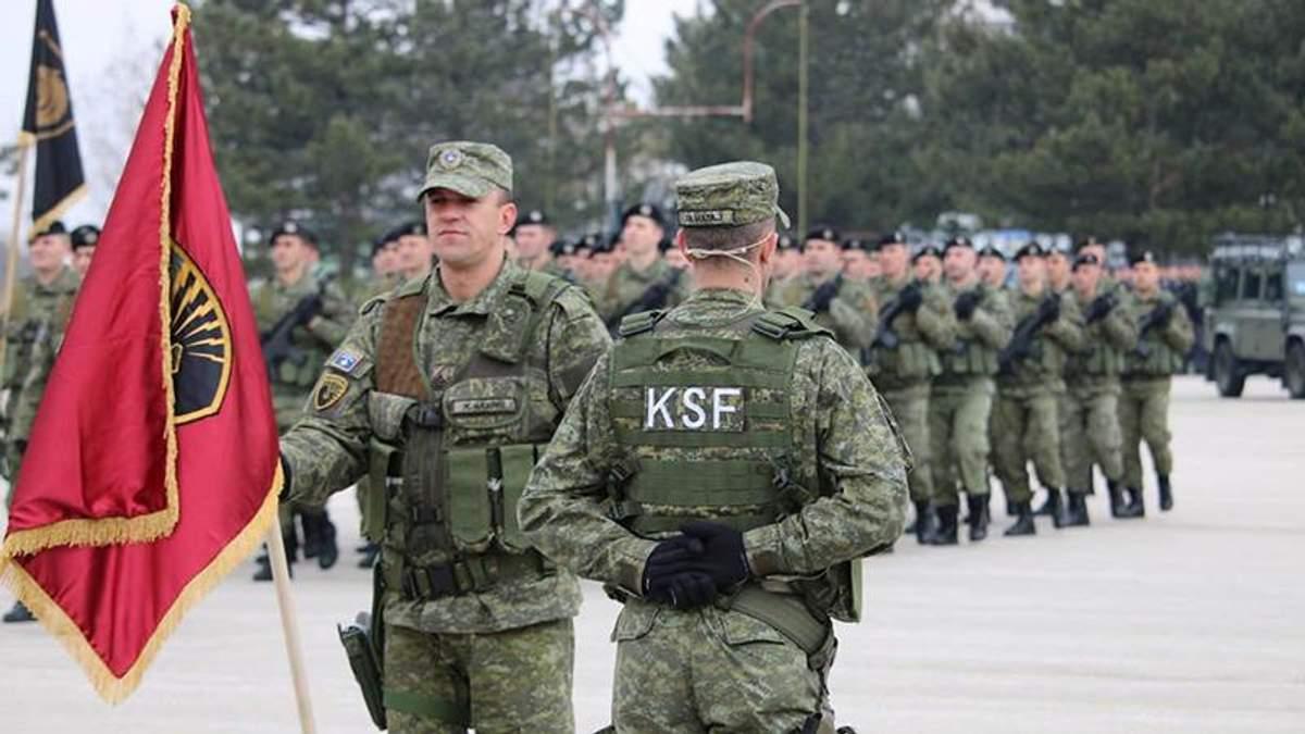 Парламент Косова проголосував за створення армії
