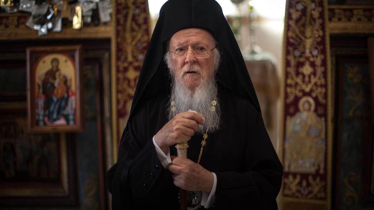 Варфоломей благословил главу Украинской поместной православной церкви