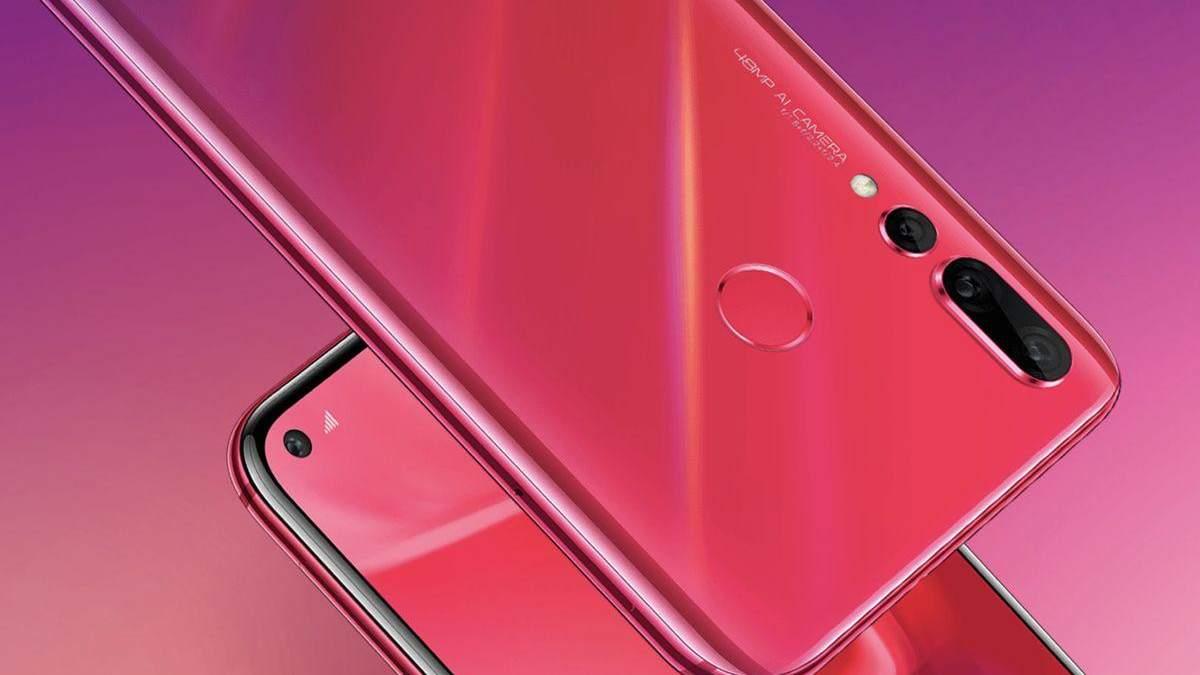 Huawei nova 4 ціна, характеристики, огляд смартфона з діркою