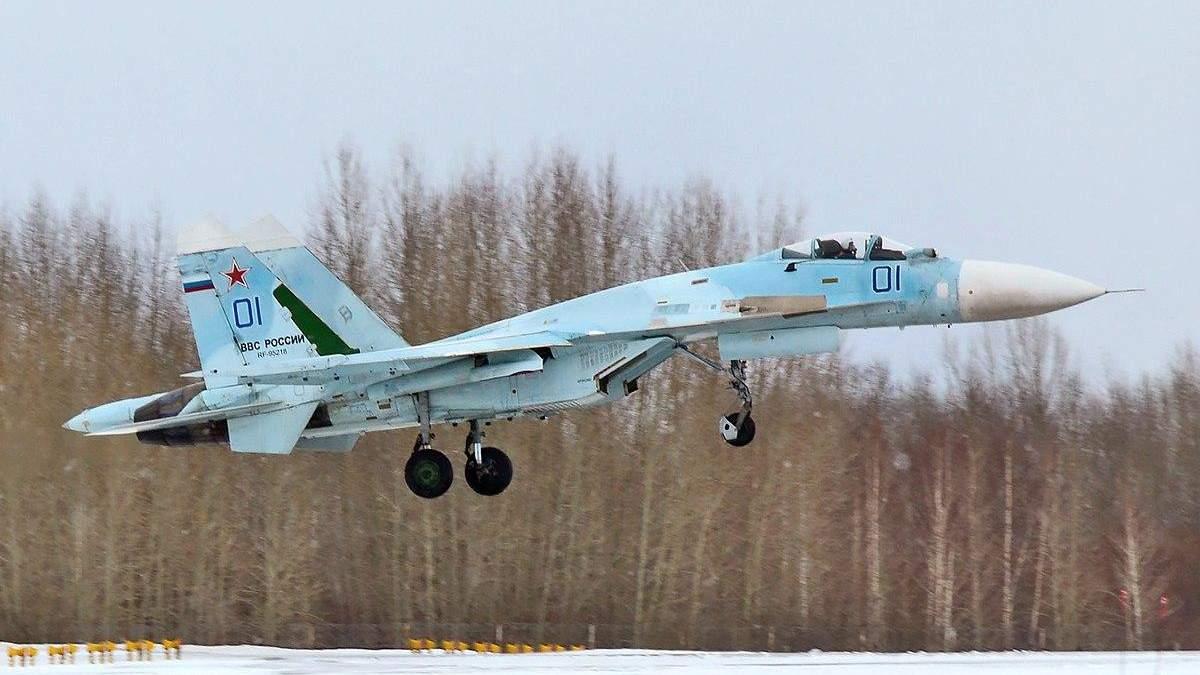 Россия собирается перебросить более десятка своих истребителей в оккупированный Крым