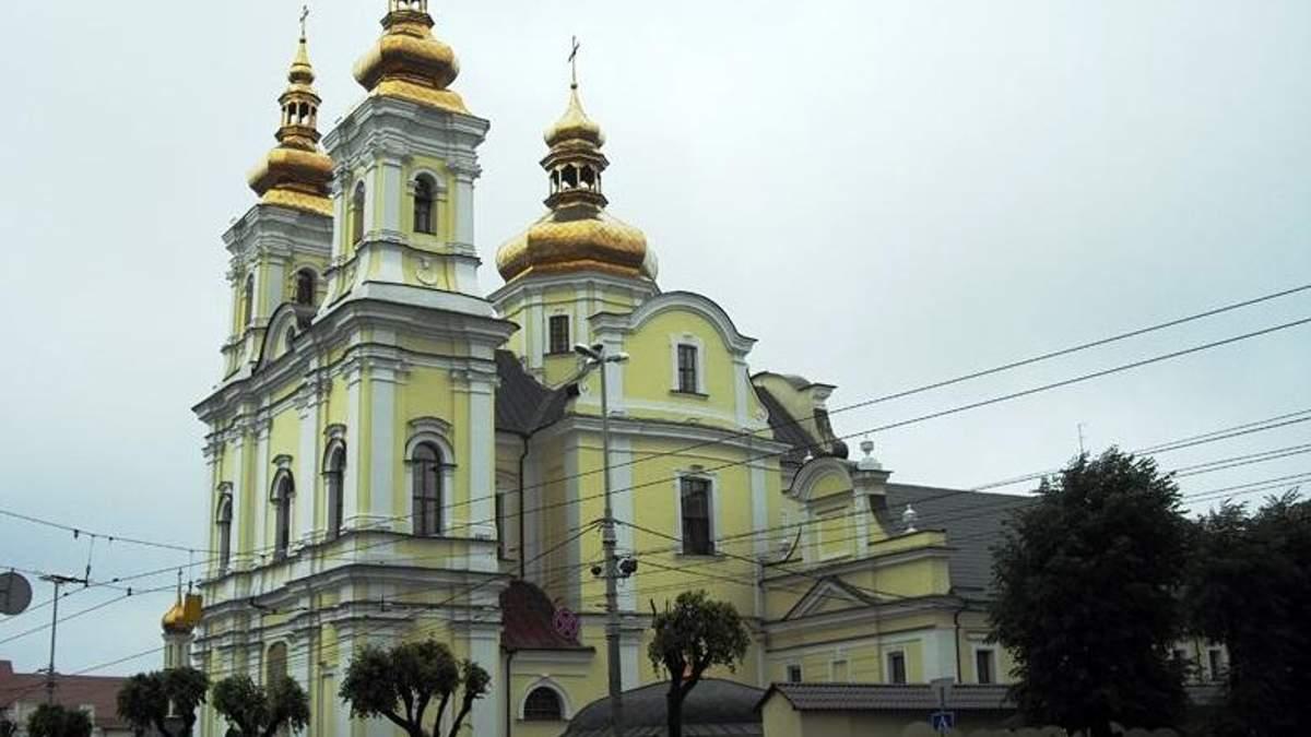 Свято-Преображенский кафедральный собор в Виннице