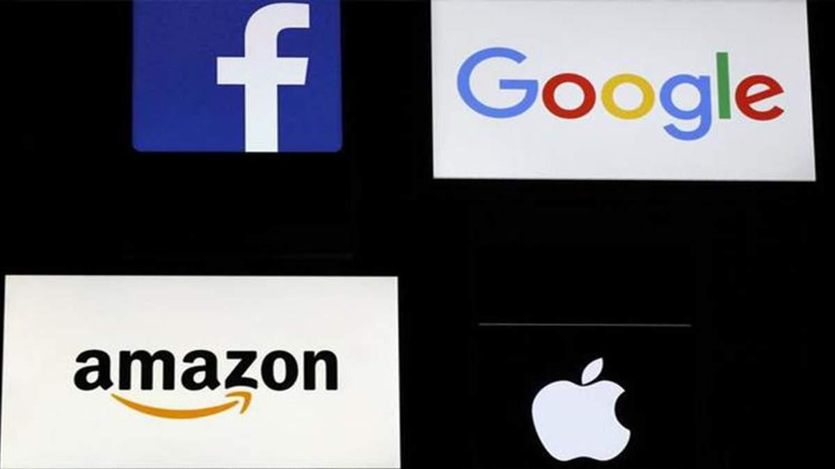 Франція хоче запровадити податок для інтернет-компаній Google, Facebook, Apple та Amazon