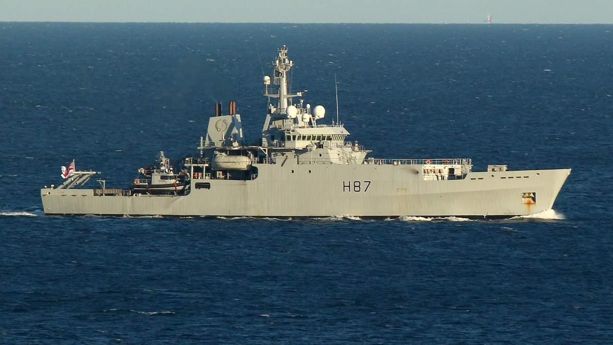 Ответ Путину: появились фото военного корабля Британии в Черном море