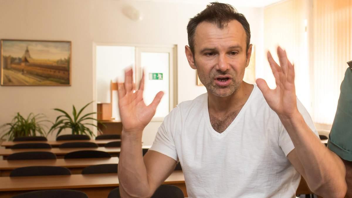 Святослав Вакарчук відповів, чи планує він об'єднуватися із Зеленським