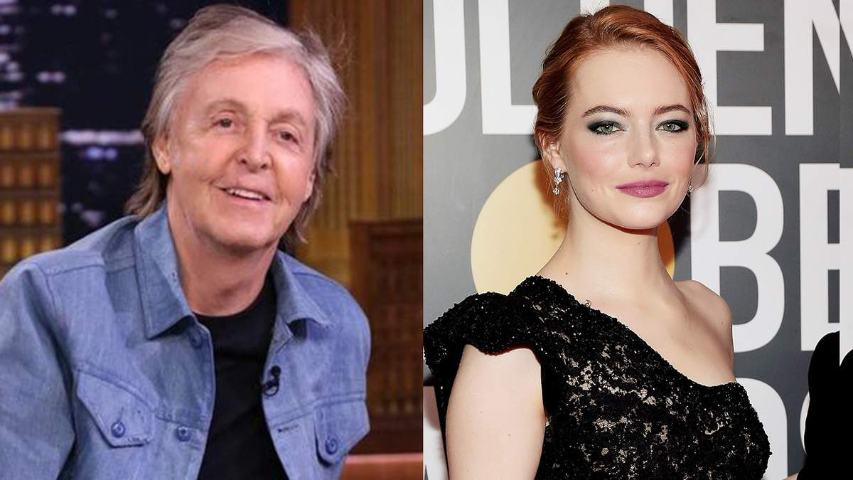Пол Маккартни представил необычный клип с Эммой Стоун: яркое видео