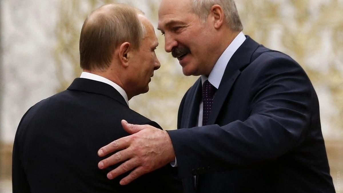 Путін і Лукашенко потурбувались про спільну безпеку: Росія схвалила військову доктрину Білорусі