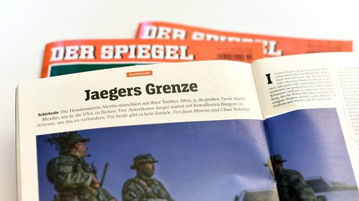 У Німеччині звільнили відомого журналіста авторитетного видання, який вигадував статті і героїв