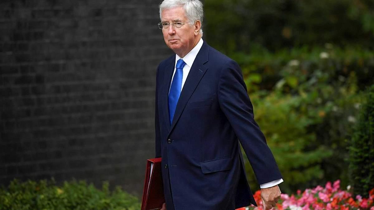 Экс-министр обороны Великобритании