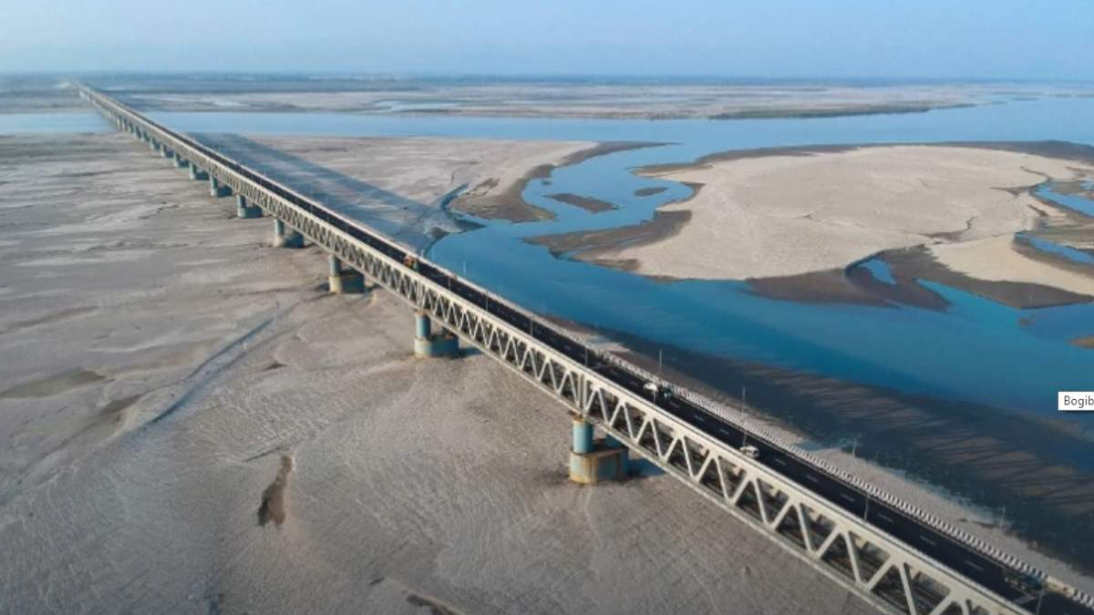 Найдовший в Індії міст довжиною 4,94 кілометра