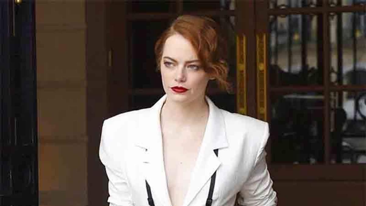 Эмма Стоун снялась в стильной фотосессии для Vogue