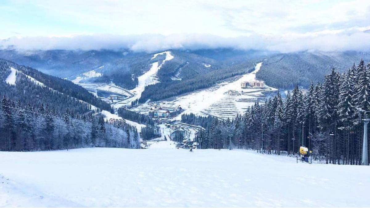 На Новий рік синоптики у Карпатах обіцяють сніг