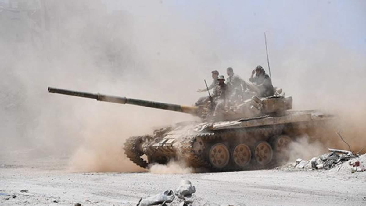 Российские оккупационные войска стянули 40 танков на Луганщину, – ОБСЕ