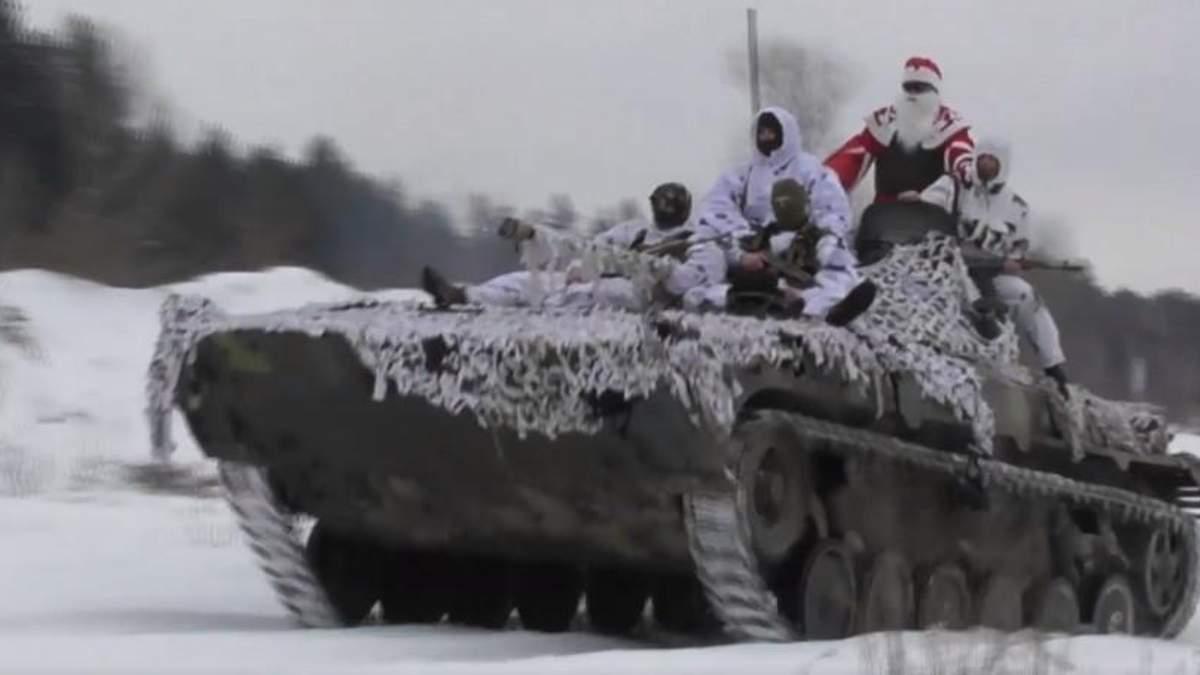 Военные трогательно поздравили украинцев с Новым годом