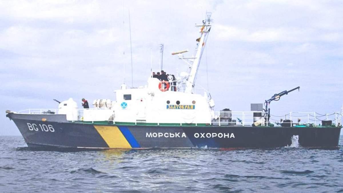 ВМС Украины наращивают группировки на Азовском море