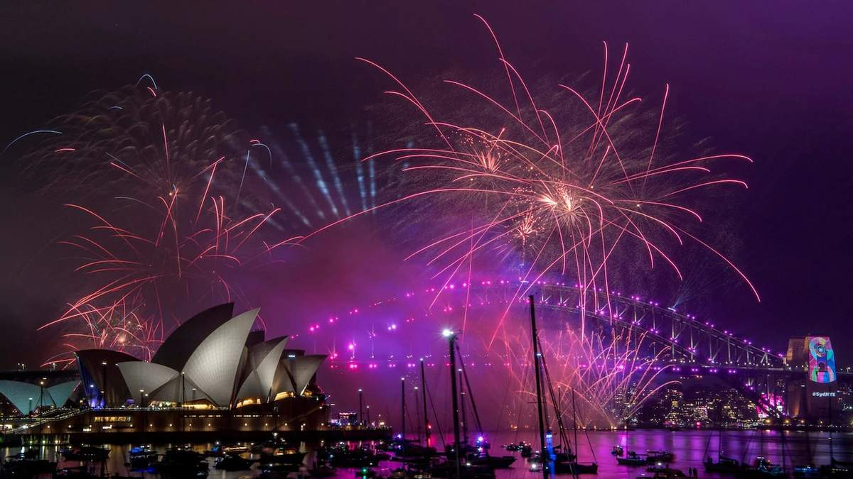 Сидней в Австралии одним из первых встретил Новый год 2019