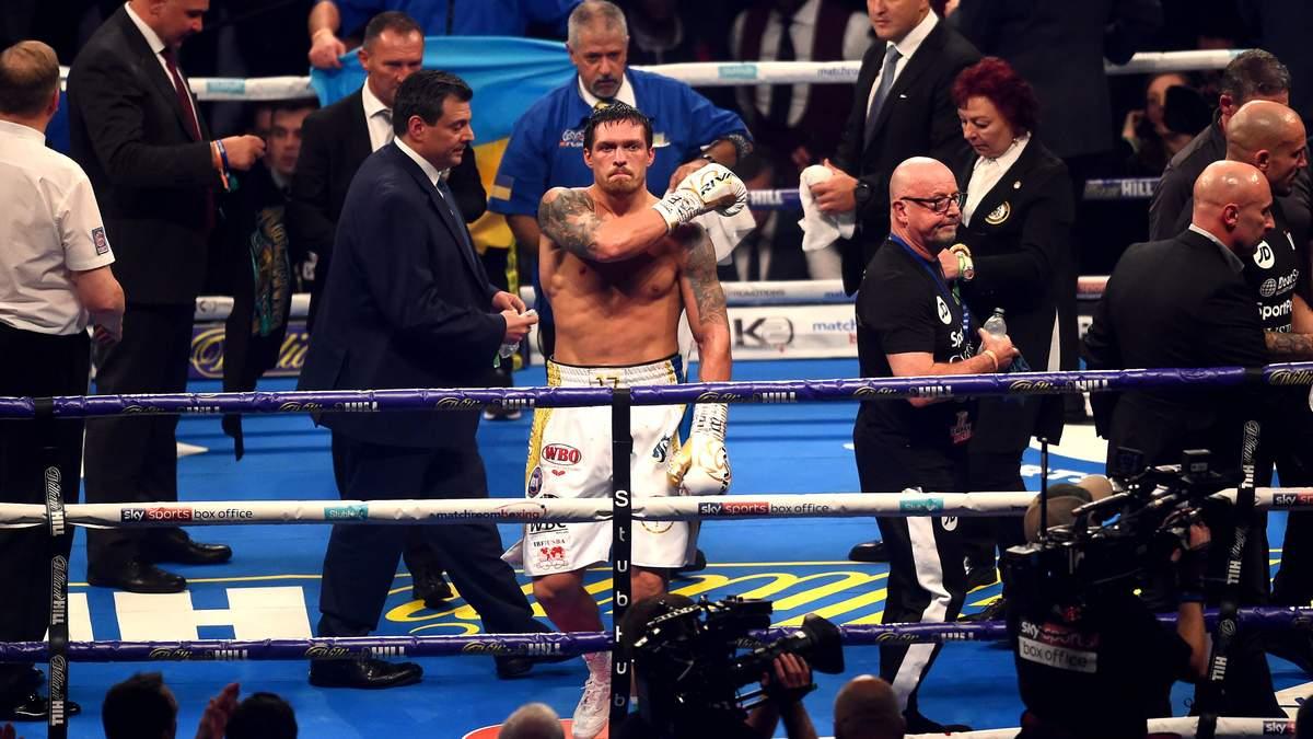 Александр Усик назван лучшим боксером планеты в 2018 году по версии WBA