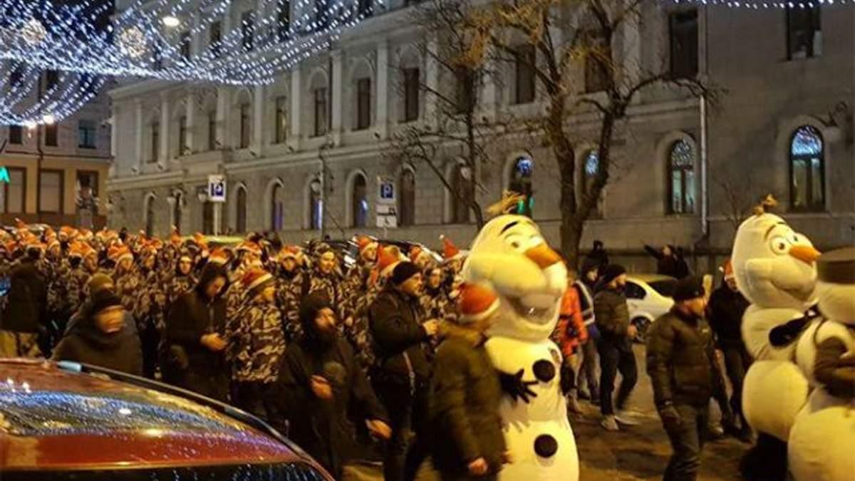 В Киеве устроили шествие к годовщине рождения Степана Бандеры: фото и видео