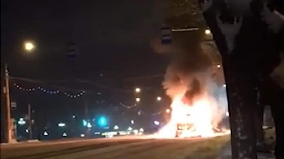 Взрыв маршрутки в Магнитогорске