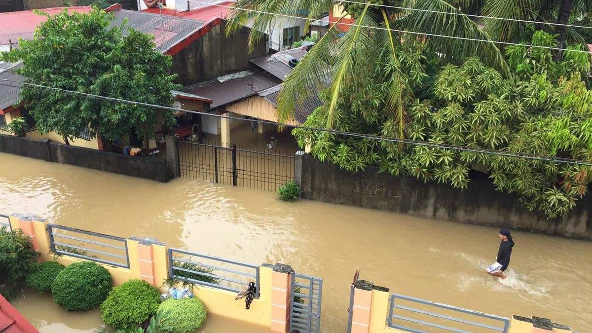 Шторм на Філіппінах
