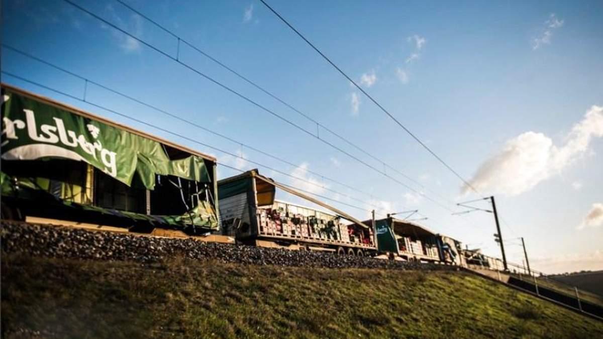 Железнодорожная авария в Дании