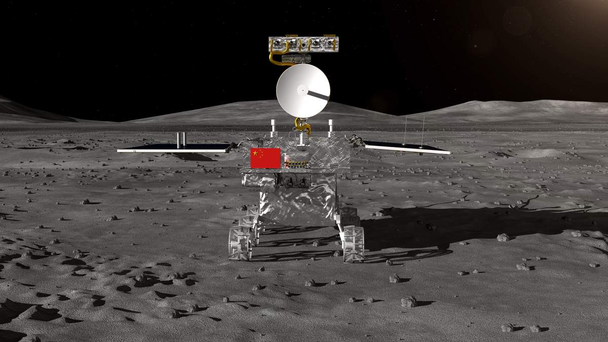 Chang'e 4 успешно села на обратной стороне Луны