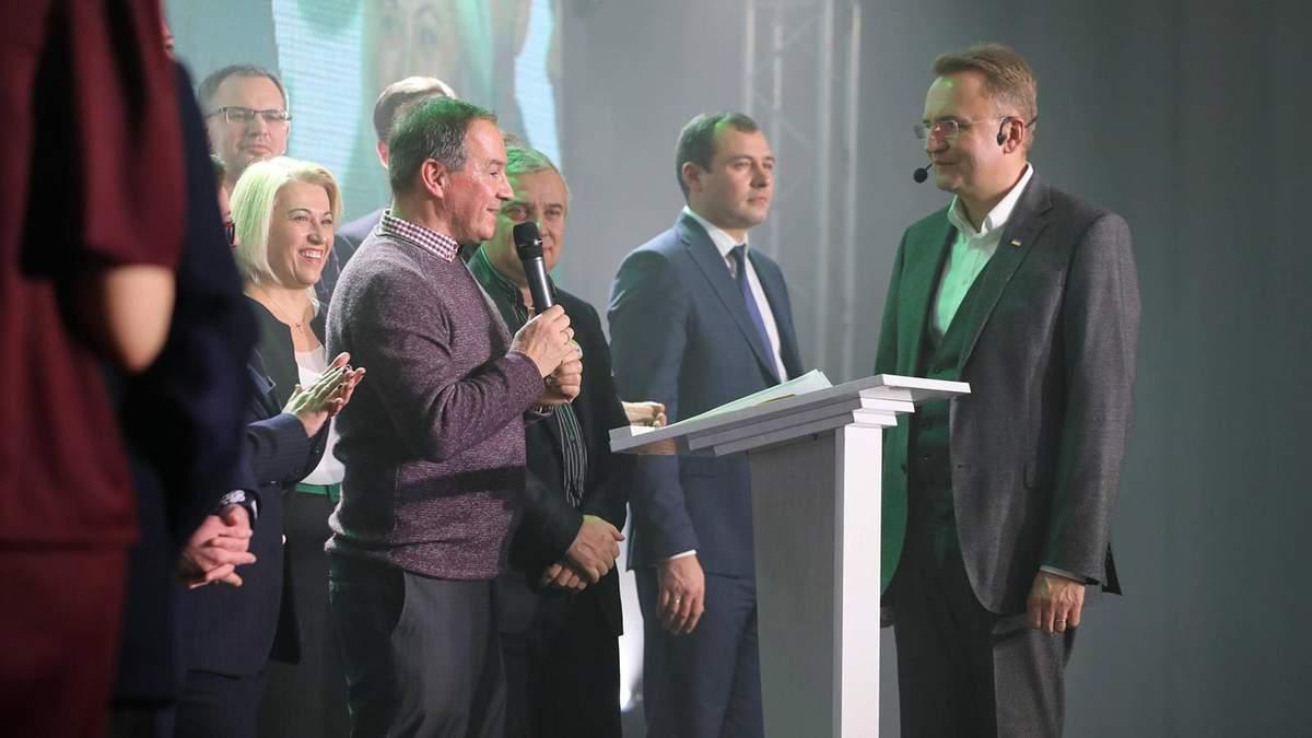 Мишель Терещенко поддержал Андрея Садового